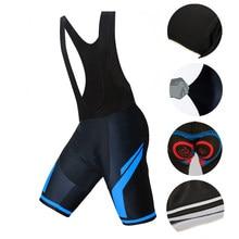 honu fast Cycling Bib Shorts Men Breathable Downhill 9D Road MTB Mountain Bike Bib Shorts Bicycle Clothing Padded