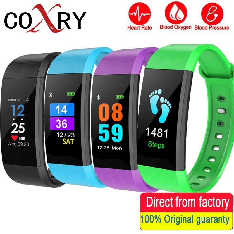 Watches Sports Watch Fitness Smart Bracelet Men Women Heart Rate Blood Pressure Watches Calories Pedometer For Android Ios Phone Men's Watches