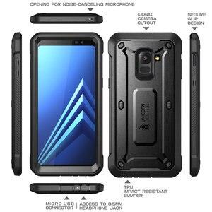 Image 5 - SUPCASE สำหรับ Galaxy A8 PLUS 2018 กรณี UB Pro เต็มรูปแบบป้องกันหน้าจอในตัวสำหรับ galaxy A8 + 2018