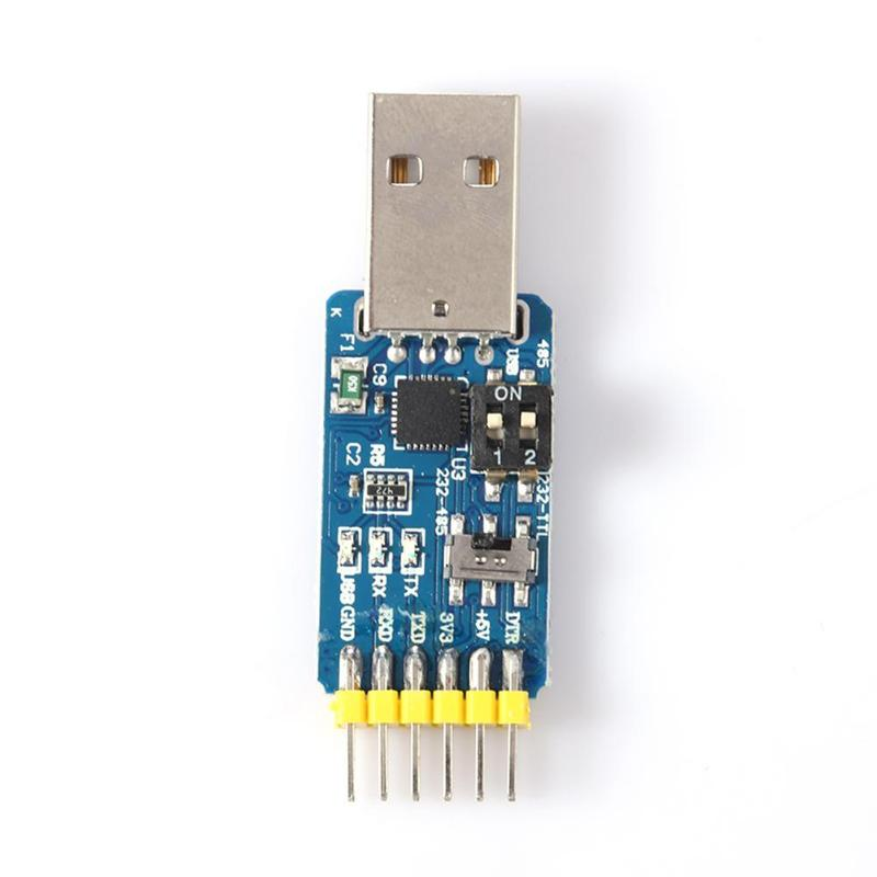 vanpower 6 in 1 CP2102 USB to TTL 485 232 Huzhuan 3.3V / 5V compatible Six multifunction serial module 3.3V/5V Converter Module image