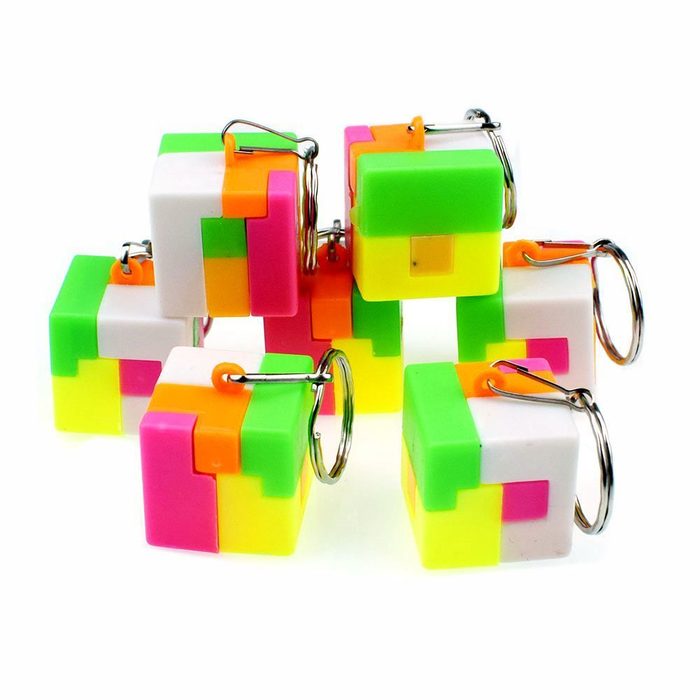 Alpinia Oxyphylla Assembling Group Combine I Intelligence Magic Cube Small Toys Kong Ming Lock Toys Contain Key Button Up Toys