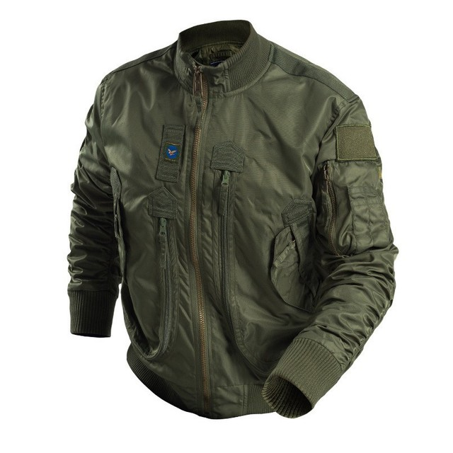2019 Ma-1 Army Air Force Fly Pilot Jacket Man Tactical Military Combat Bomber Jacket High Quality Windproor Spring/Autumn Coat