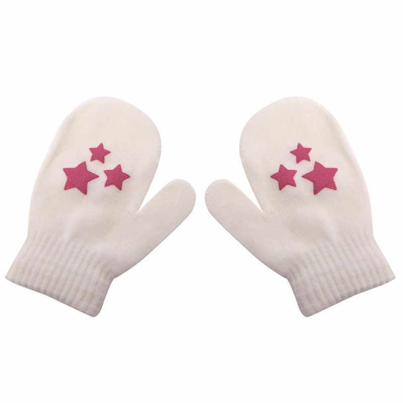 חורף חם תינוק כפפות ילדים קסם כותנה נמתח כפפות עבור ילדה ילד יוניסקס אנטי שריטות כפפת תינוק תינוק רך