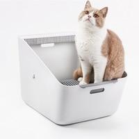 Индуктивный дезодорант кошек Помет Box Cat Туалет Обучение Kit Pet уничтожающее запах Training пометов Bedpans очиститель товар для кота