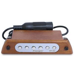 """Image 2 - Flanger acoustique Folk bois guitare son trou pick up magnétique Guitarra micros pour 39 """"/40""""/41 """"/42"""" accessoires guitare FP 02"""