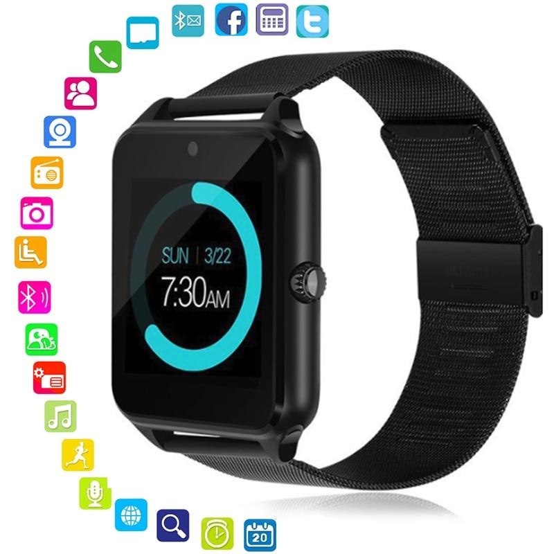 Smart Watch Z60 PLUS Genuine Strap Bluetooth Wrist Smartwatch Support GSM SIM Card Compatible For Android IOS SmartphoneSmart Watch Z60 PLUS Genuine Strap Bluetooth Wrist Smartwatch Support GSM SIM Card Compatible For Android IOS Smartphone
