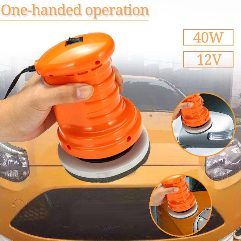 Doersupp Auto Polieren Maschine Wachsen Maschine 40 W DC12V Elektrische Glanz Farbe Power Kratzer Entfernen Schönheit Pflege Reparatur Polierer