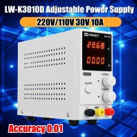 LW K3010D DC Power Supply Variable 0 30V/ 0 10A 110V/220V Adjustable Switching Regulated Power Supply Dual Display 0.01 Accuracy