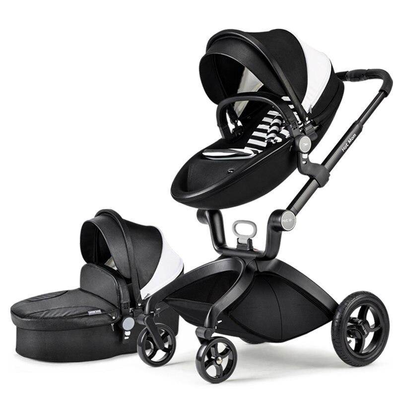 Original hot mum baby strollers 2 in 1  seven colors in stock  2in 1 baby stroller hot mum stroller