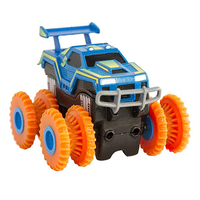 New Trix Truxs Monster Truck Set As Seen On TV Toy Stunt Car That Flip Climb And Zip Line Powerful 4 Wheel Drive Christmas Gift