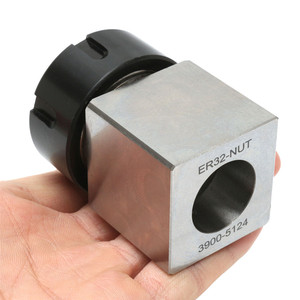 Image 5 - ER 32 Square Collet Block Chuck Holder 3900 5124 for CNC Lathe Engraving Machine