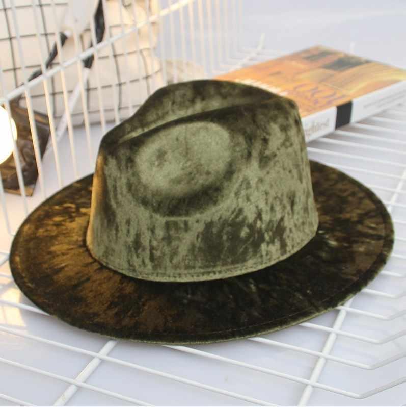 Musim Gugur dan Musim Dingin Inggris Mengembalikan Cara Sastra Pak Topi Waktu Luang Formal Topi Kerai Yang Luas Penuh Wol Cap Pasang