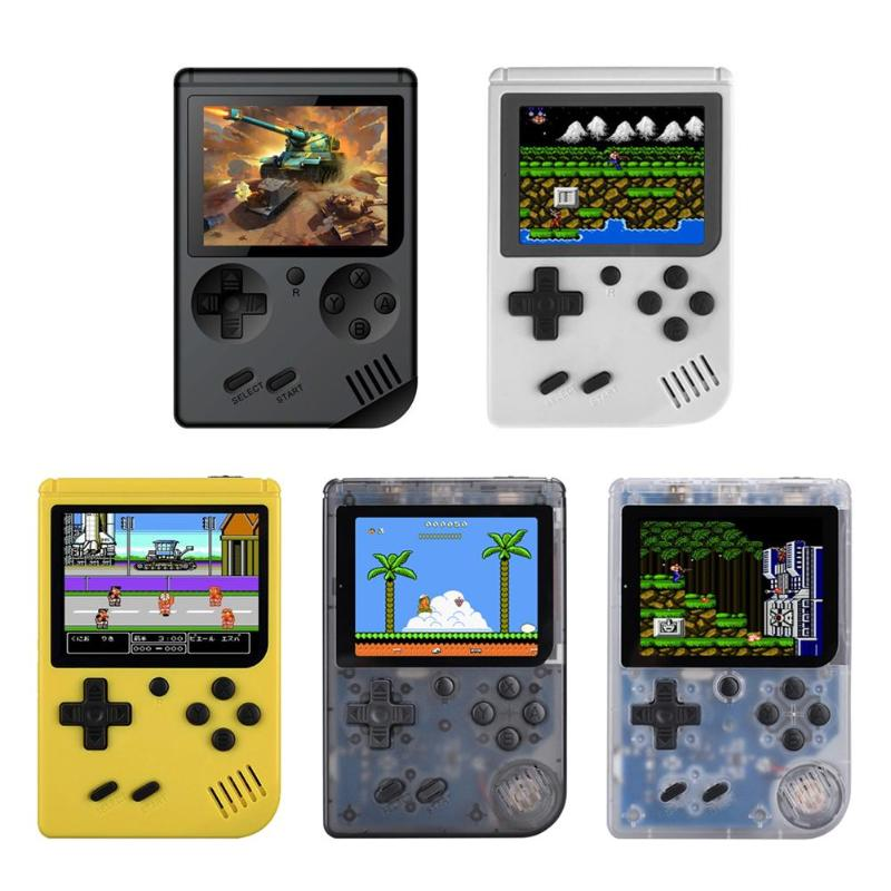 Hot RS-6 A Retro Mini Handheld Game Console Built-in 168 Games 8-Bit 3.0 Inch Color LCD Screen Kids Color Game Player Portable