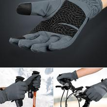 2018 New Ski Gloves - Winter Windproof Cold Resistant Waterproof Gloves For Female - Outdoor Riding Mountaineering Glove