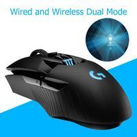 Logitech G903 движущегося со скоростью света Женская игровая Мышь POWERPLAY Беспроводной заряжающая мышь