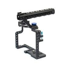 Cage de caméra DSLR avec poignée supérieure, pour plate forme de caméra Panasonic Lumix GH5 F20577