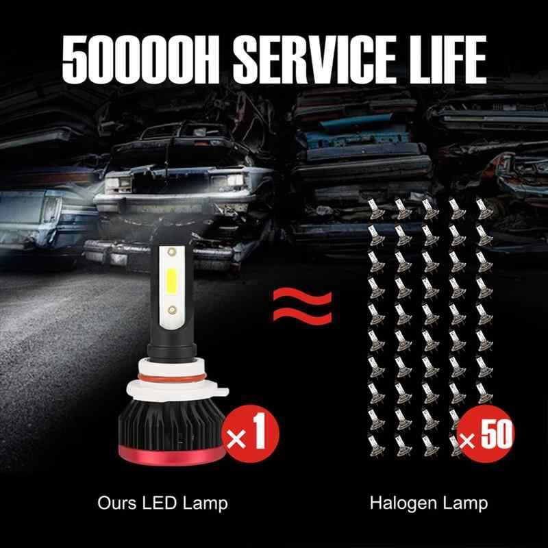 2pcs 9005 9006 H4 H7 H11 H1 LED Car Headlight Bulb 6500K Lamp LED 36W Car Lights LED Headlight