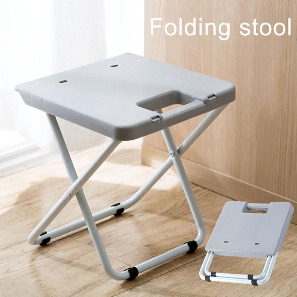 Portable Foldable Stool Collapsible Travel Picnic Camping Fishing Seat Chair