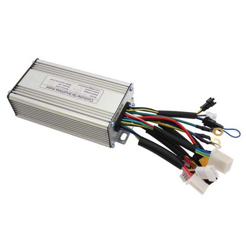 1 unid 36 V/48 V 500 w 9 tubo 25A sin escobillas de par de onda sinusoidal controlador