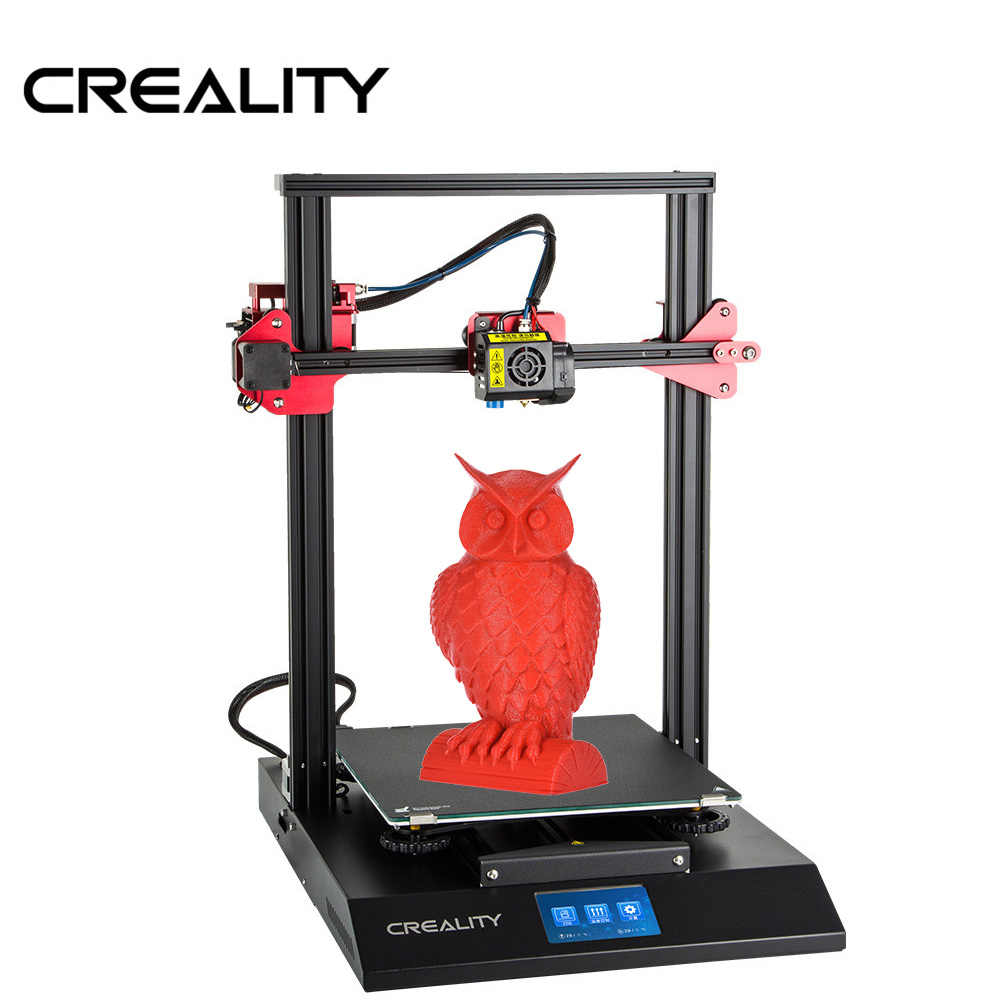 CREALITY CR-10S Pro Upgraded Auto Leveling 3D Printer DIY Self-assembly Kit 300*300*400mm Large Print Size Full LCD Touchscreen