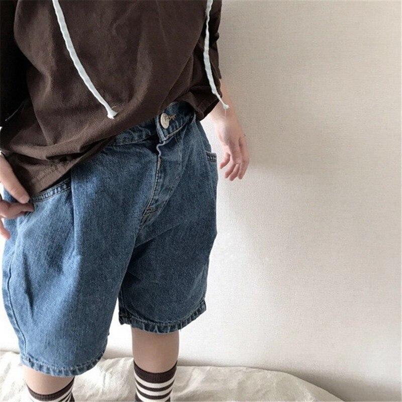 2 3 4 5 6 Jahre Baby Shorts Jeans Sommer Jungen Kinder Jeans Shorts Für Mädchen Kinder Feste Beiläufige Hosen Denim Shorts 2019 Neue