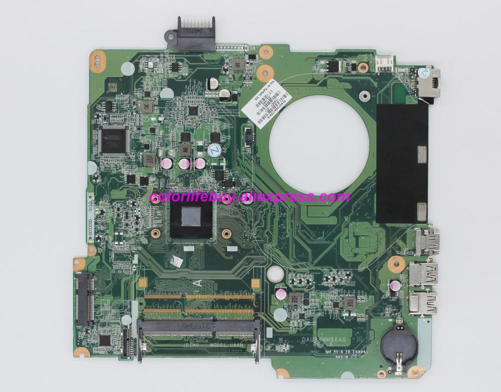 Genuine 779457 501 779457 001 DAU88MMB6A0 UMA w N2830 CPU Laptop Motherboard Mainboard for HP 15 F Series NoteBook PC-in Laptop Motherboard from Computer & Office