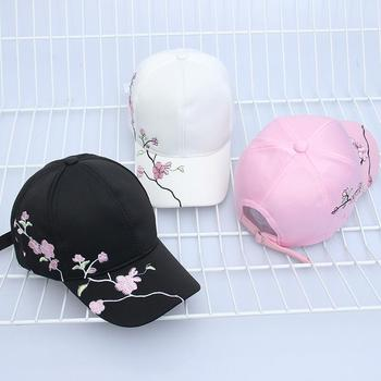 High Quality Unisex Cotton Outdoor Baseball Cap Plum embroidery Embroidery Snapback Fashion Sports Hats For Men & Women Cap 2