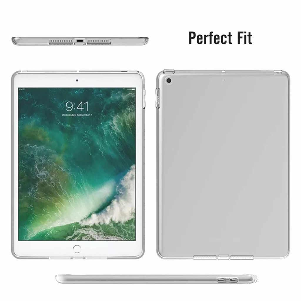 Funda de carcasa transparente de silicona suave TPU para ipad Mini 5 7,9 pulgadas 2019 Ultra parachoques trasero funda protectora para tableta