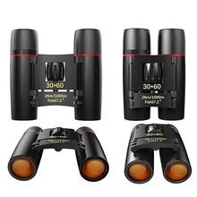 30×60 Mini Compact for Adults Binocular Portable Waterproof Telescope