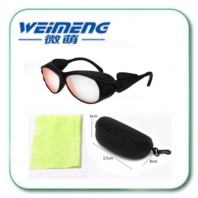 Weimeng brand 808nm Laser protective safety glasses professional goggles 780nm-850nm OD6+ for laser  beauty machines 808nm laser