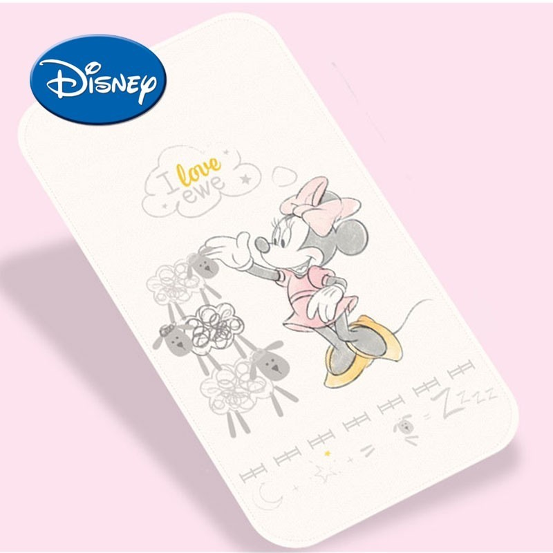 Disney Reusable Baby Changing Pads Organic Cotton Waterproof Layer Baby Changing Mat Bed Sheets For Newborn