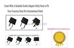Image 4 - UpBright adaptador de CA de repuesto, lámpara LED CND, 36V, 100 240V, fuente de alimentación Universal, enchufe de red para lámpara UV de uñas Shellac