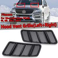 New Car Front Hood Vent Grille Air Flow Intake Hood For Mercedes For Benz W166 GL GL350 GL450 GL550 ML ML350 ML550 2012 2015
