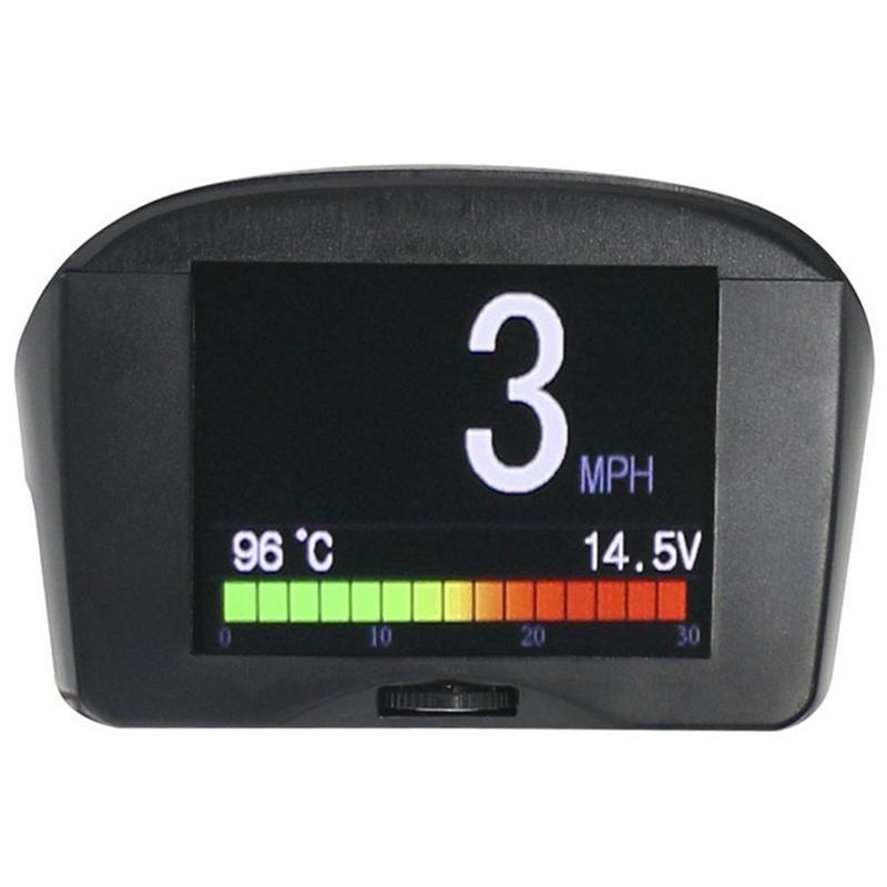 Car Head-up Display 2.4inch Multi-Function OBD Smart Digital Meter Alarm Fault Code Water Temperature Gauge Voltage Speed Meter Car Head-up Display 2.4inch Multi-Function OBD Smart Digital Meter Alarm Fault Code Water Temperature Gauge Voltage Speed Meter