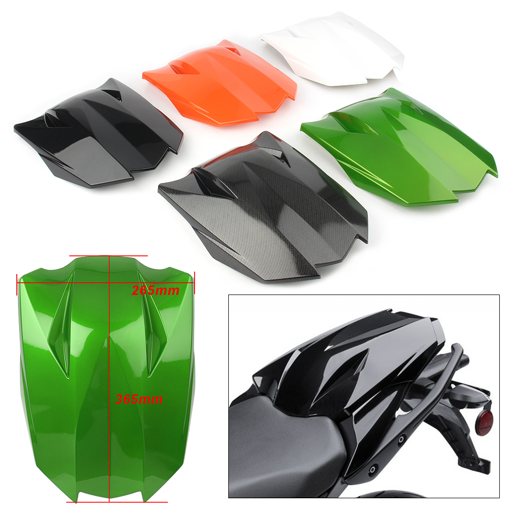 Motorcycle Rear Pillion Passenger Cowl Seat Back Cover Fairing Part For <font><b>Kawasaki</b></font> <font><b>Z1000</b></font> <font><b>2010</b></font> 2011 2012 2013 image