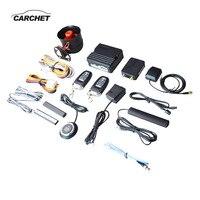CARCHET 12 В Смартфон Дистанционное включение выключение двигатели для автомобиля инициирования системы Автомобиль Smart Alarm Keyless запись Централь