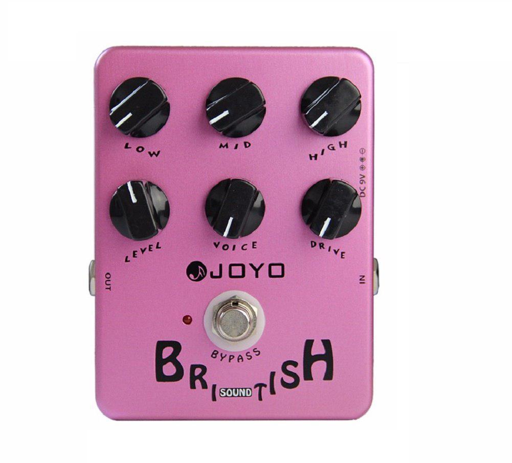 JOYO pédale d'effets de guitare britannique son véritable contournement effet bloc unique simulateur de haut-parleur accessoires guitare électrique JF-16