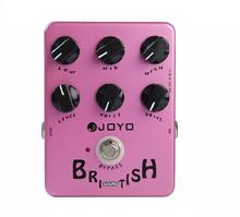 JOYO Guitar Effects Pedal British Sound True Bypass Single Block Effect Speaker Simulator Electric Guitar Accessories JF-16 цена