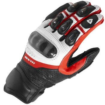 Genuine Leather Revit Motorcycle Short Gloves Moto GP Driving Motorbike Team Racing Gloves 1