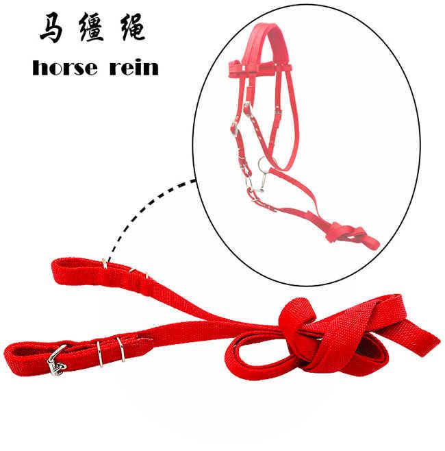 Frete grátis PP webbing cavalo levar corda, cavalo rein.2.5MM grosso, 20 MM de largura (RP1010)