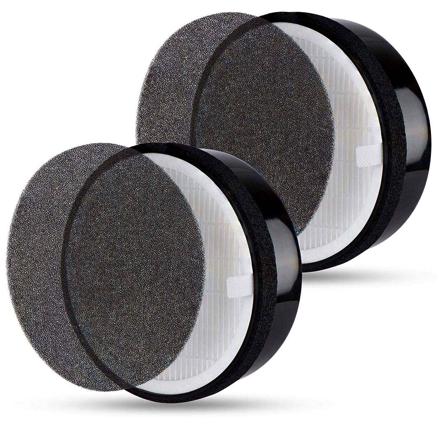 HEPA Air Filter Replacement for Levoit Air Purifier LV-H132, 2 SetsHEPA Air Filter Replacement for Levoit Air Purifier LV-H132, 2 Sets