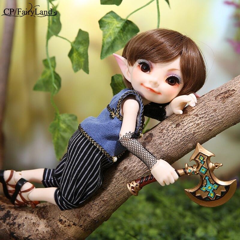 New arrival Fairyland FL Realfee Toki sd bjd dolls 1 7 body model tsum baby dolls