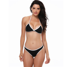 ECTIC Brazilian Bikini 2019 Swimwear Women Swimsuit Sexy Push Up Set Swimming Bathing Suit Beachwear Summer