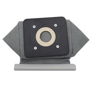 1 lavável reutilizável universal aspirador de pó saco de pano sacos de pó 11x10cm para philips electrolux lg haier samsung