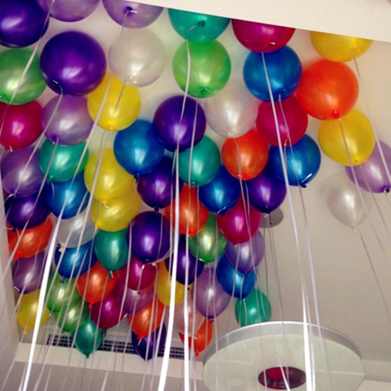 50 PC 10 Inch Latex Balloons Globos Party Air Balloons ...