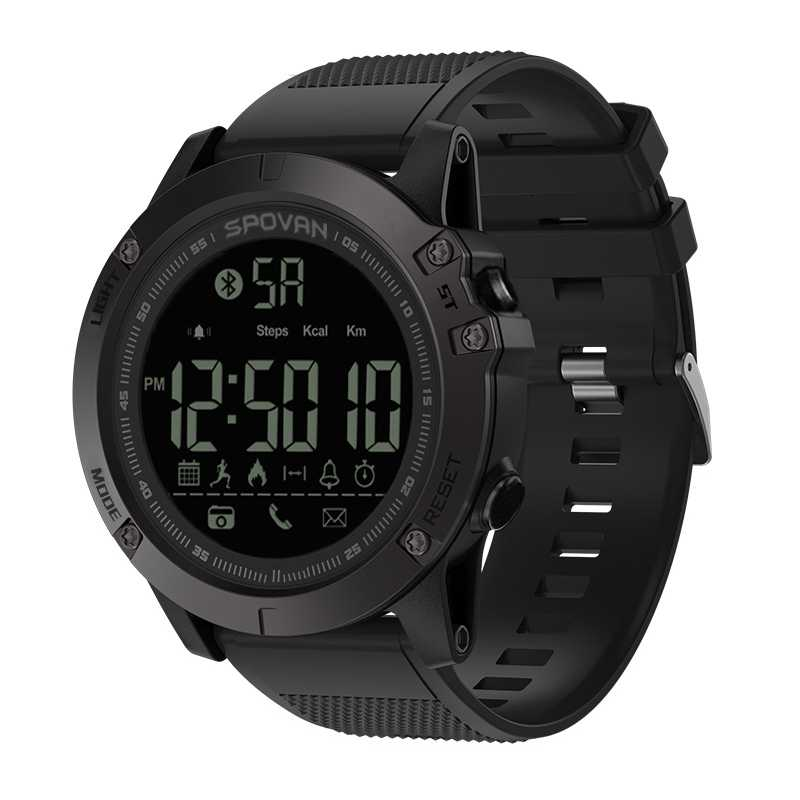 SPOVAN New PR1 24h All-Weather Monitoring Smart sport Watch For IOS And Android  smart watch
