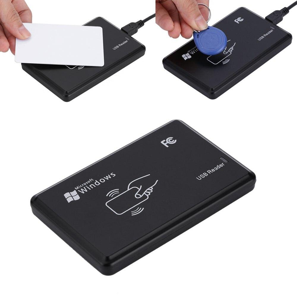 125 KHz RFID ID EM Card Reader Writer Copier with 5PCS EM4305 Key Tag + T5577 Card for Access Control Home Safety125 KHz RFID ID EM Card Reader Writer Copier with 5PCS EM4305 Key Tag + T5577 Card for Access Control Home Safety