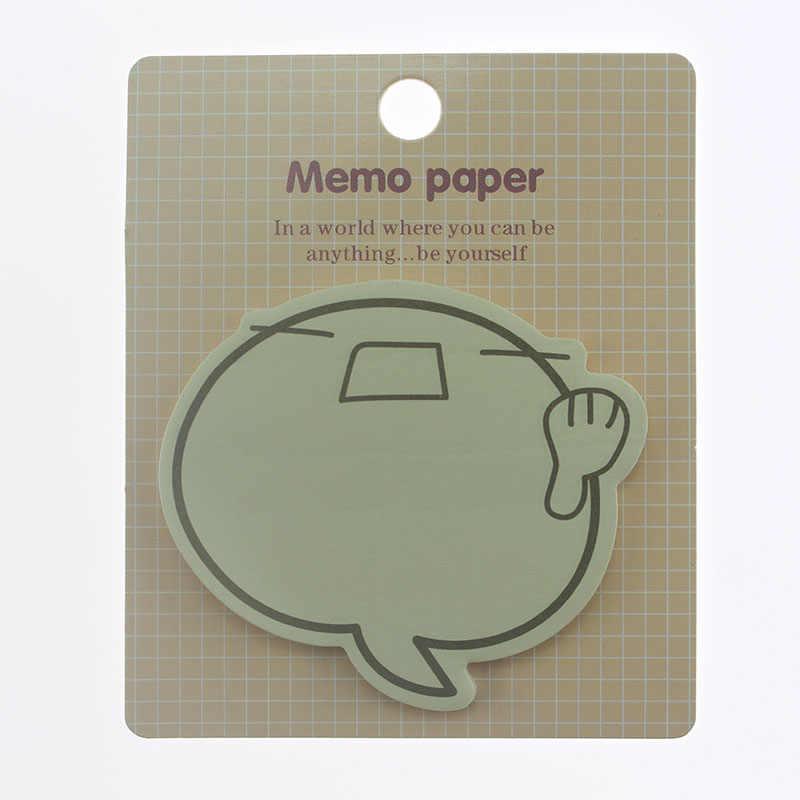 Ellen Brook 1 ชิ้นการ์ตูนน่ารักหอม Smily Sticky Notes สร้างสรรค์ Notepad Filofax Memo Pads Office เครื่องเขียนโรงเรียน