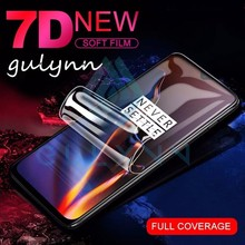 7D Protective Soft Hydrogel Film on the For oneplus 6 5 5T 7 T Full Cover Screen Protector 6T