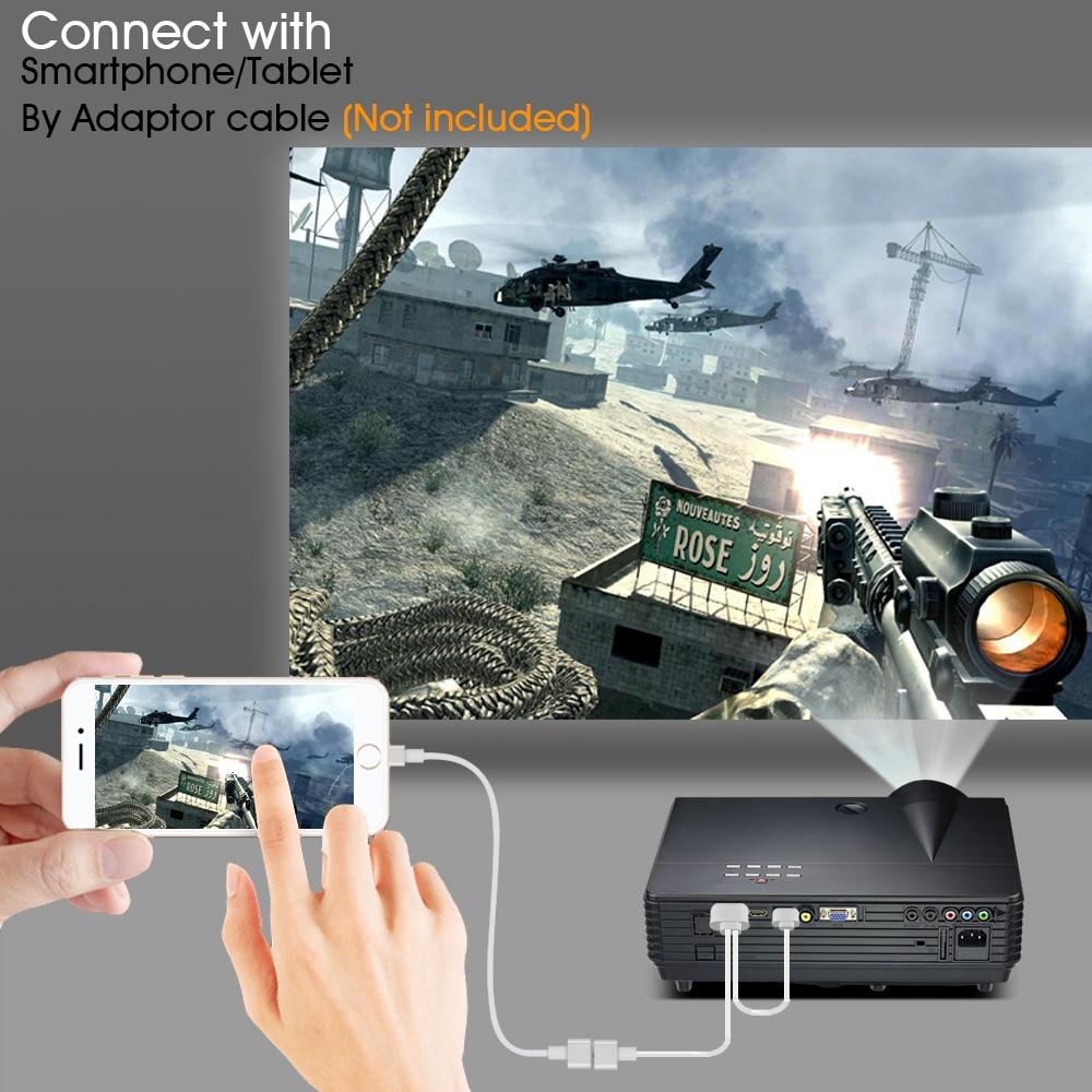 BYINTEK MOON BT96Plus Hologram 200inch LED Video HD Projektor për - Audio dhe video në shtëpi - Foto 3